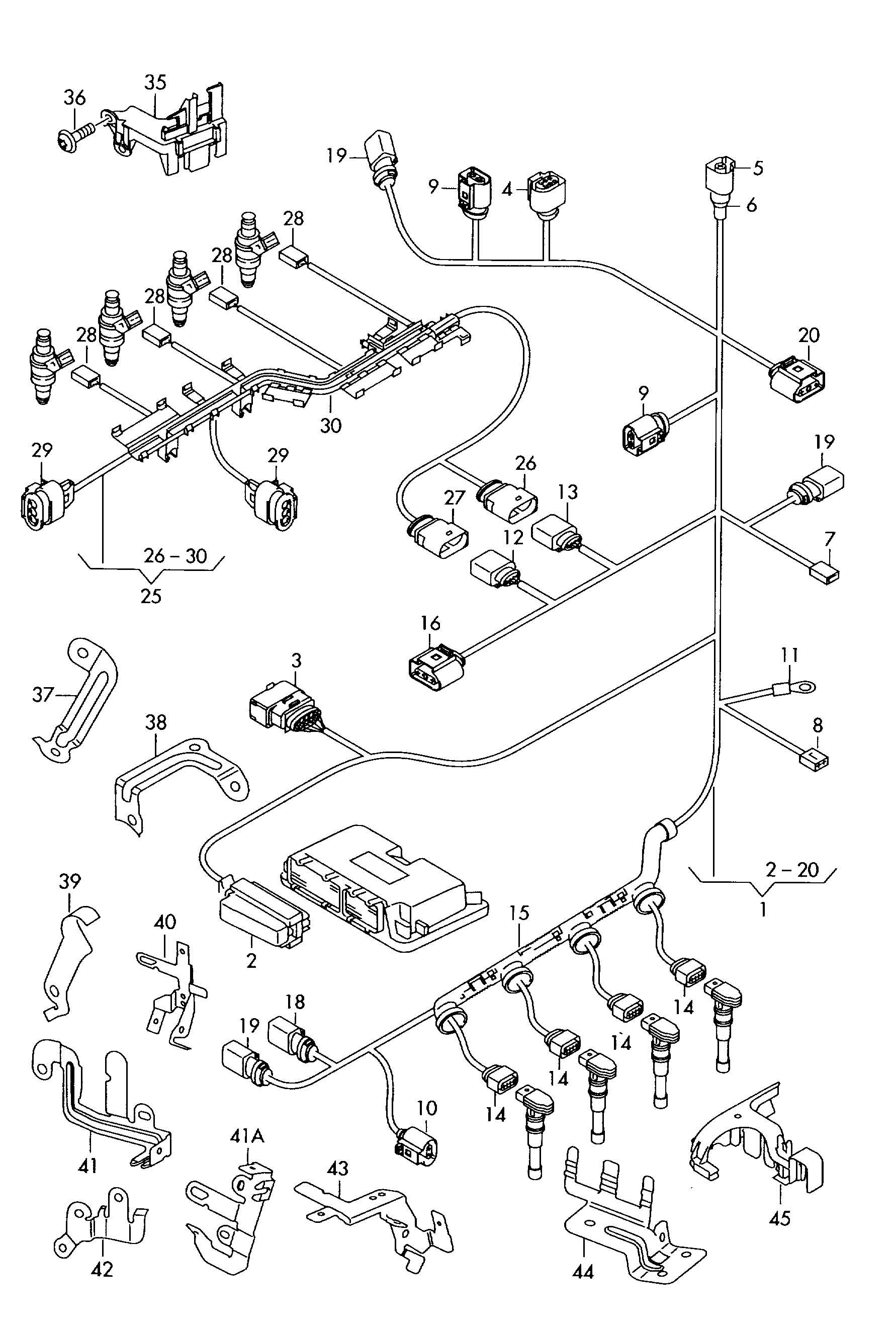 Volkswagen Golf Variant Fuel Metering Pump For Vehicles