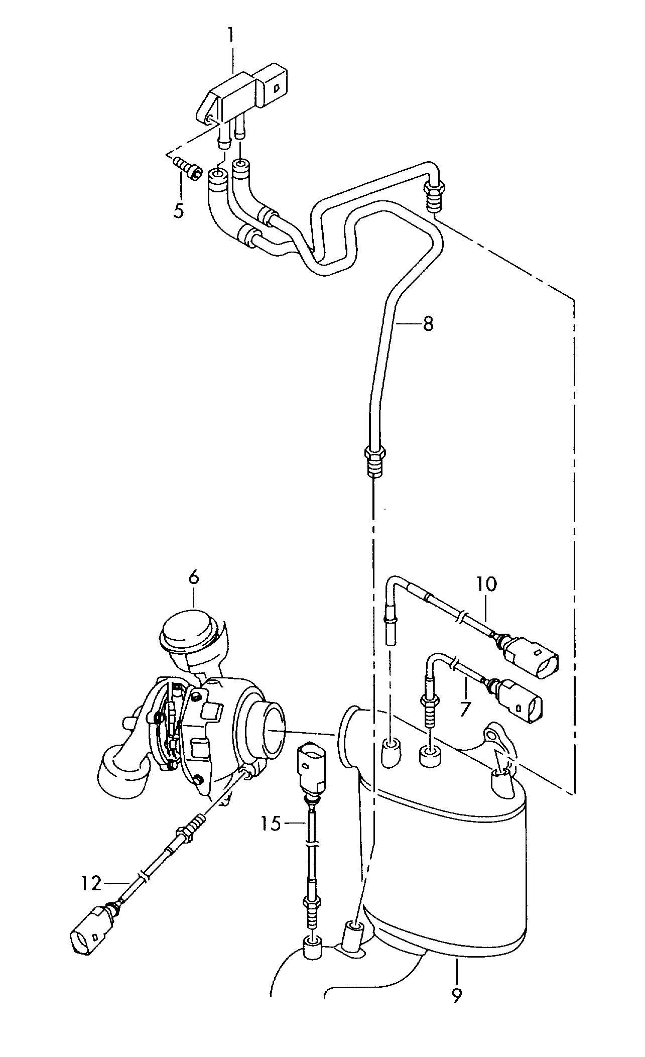 Volkswagen R32 Differential Pressure Sensor Emissions