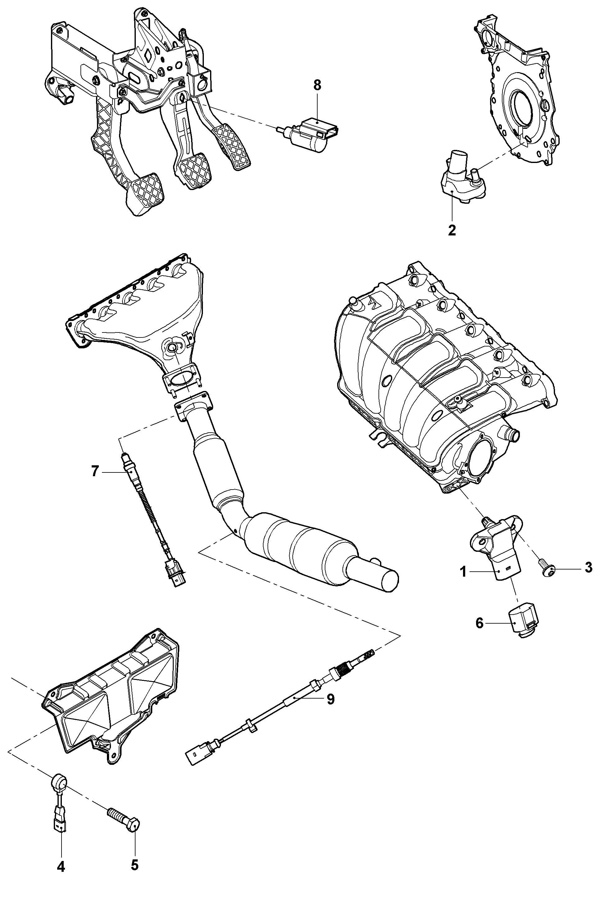 Volkswagen Jetta Variant 2 0l Repair Set For Lambda Probe