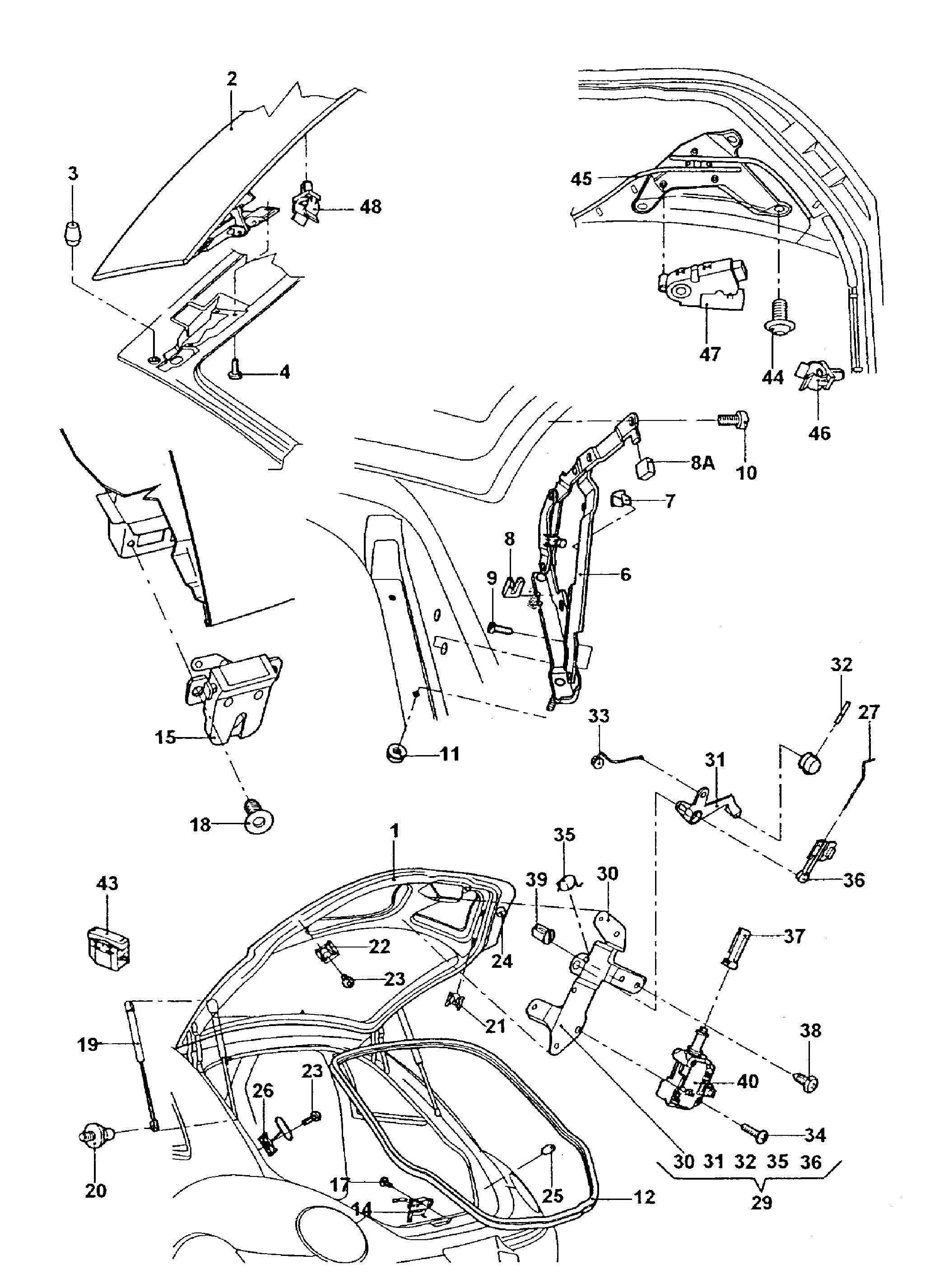 Volkswagen New Beetle Spoiler Motor