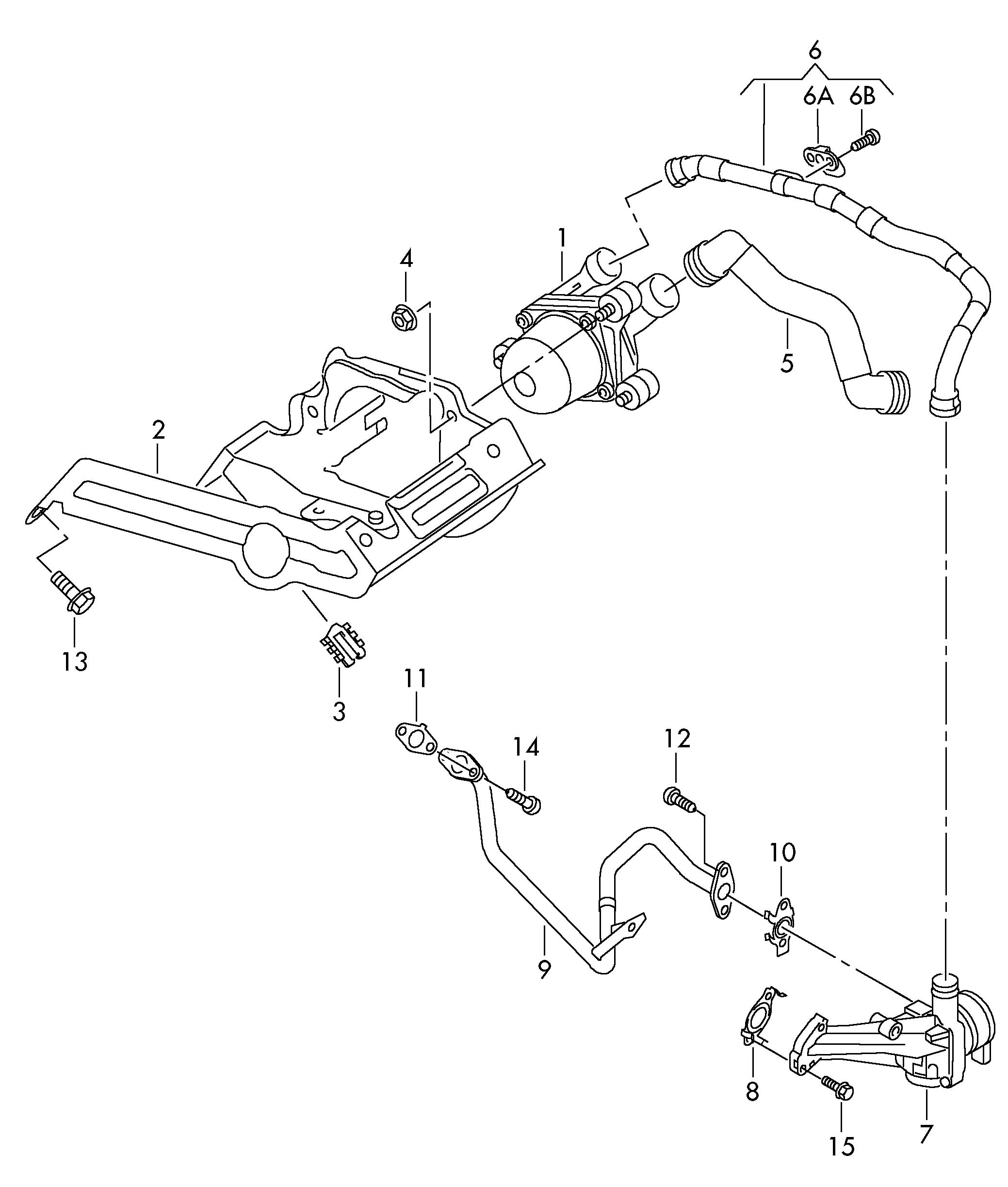 Volkswagen Passat Belt Diagram