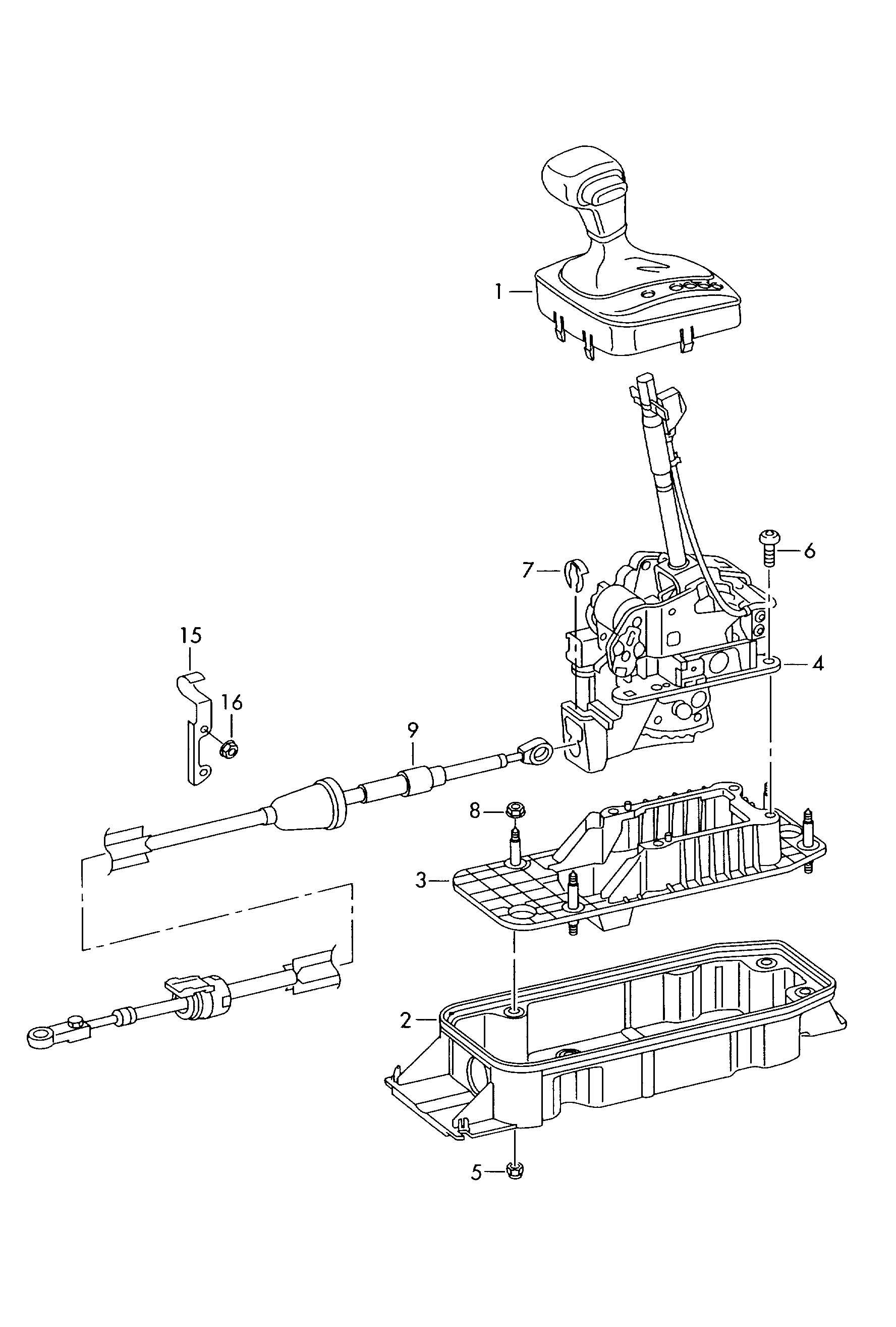Volkswagen R32 Shift Mechanism Lhd