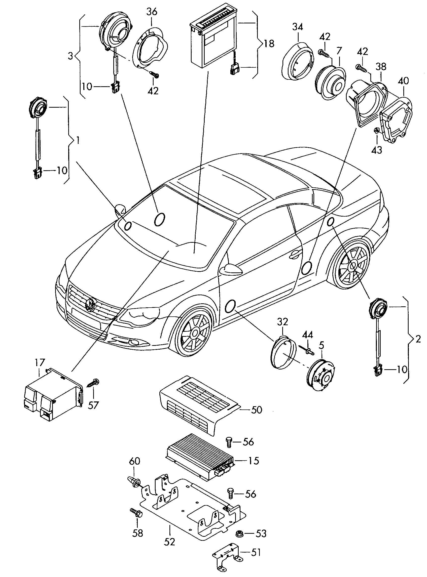 Volkswagen Eos Amplifier Booster