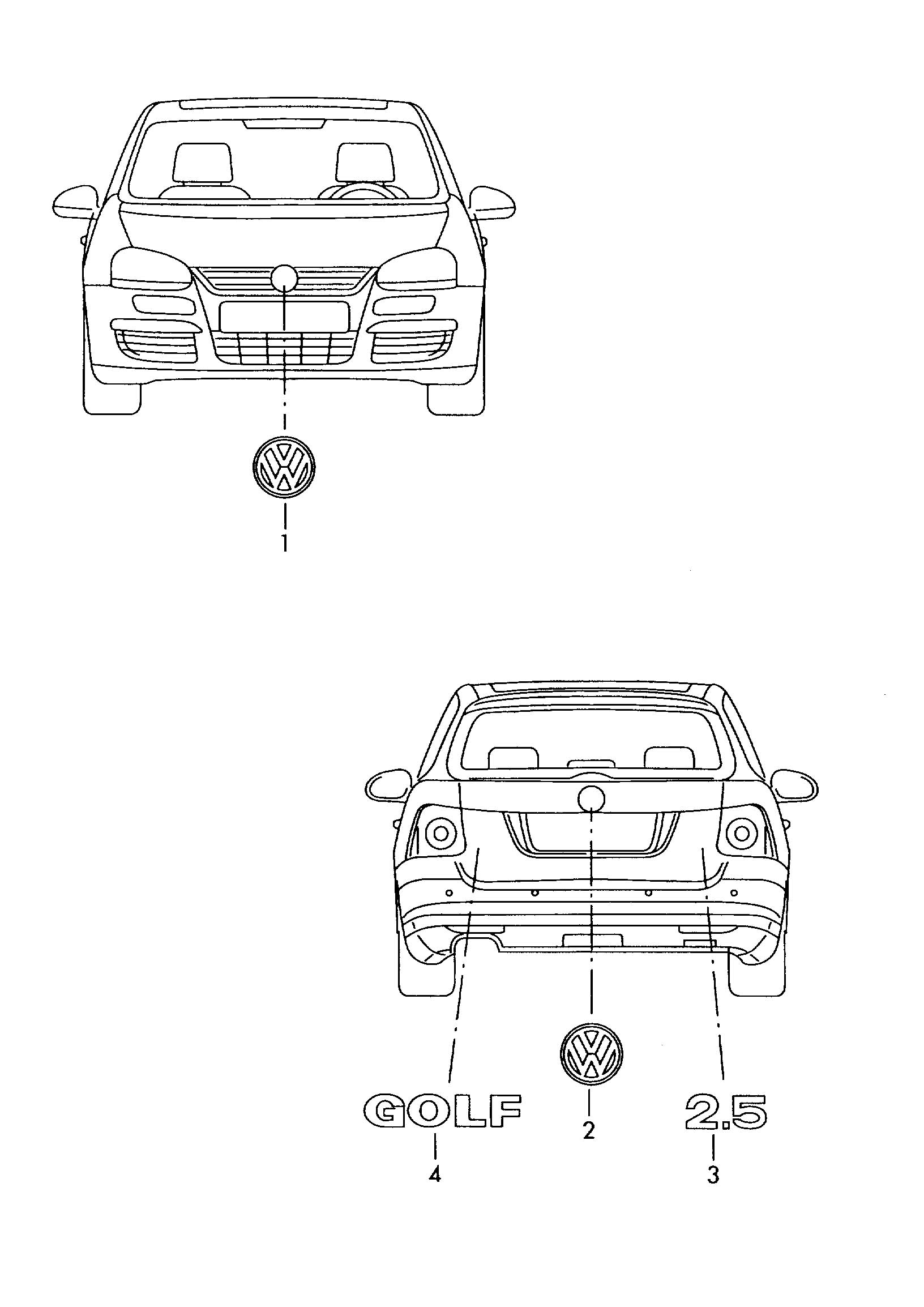 Volkswagen Golf Variant Chrome Silver