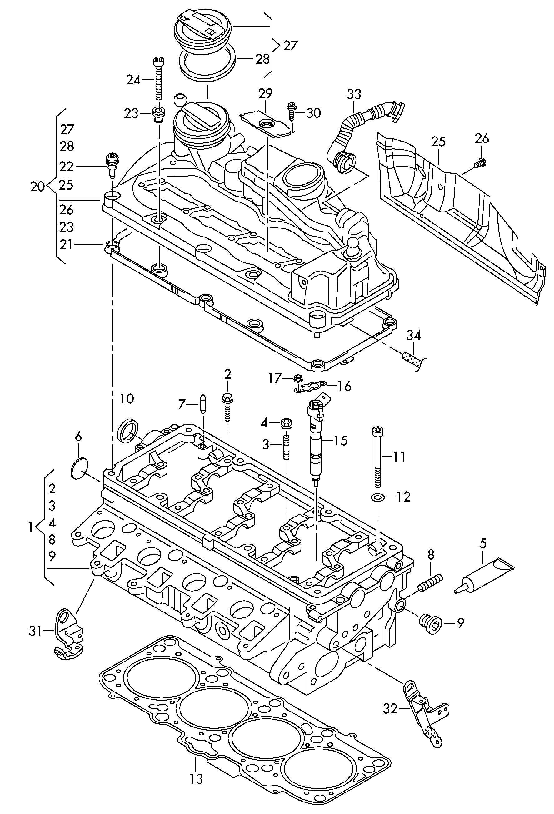 Volkswagen Golf Variant Injection Unit Common Cjaa