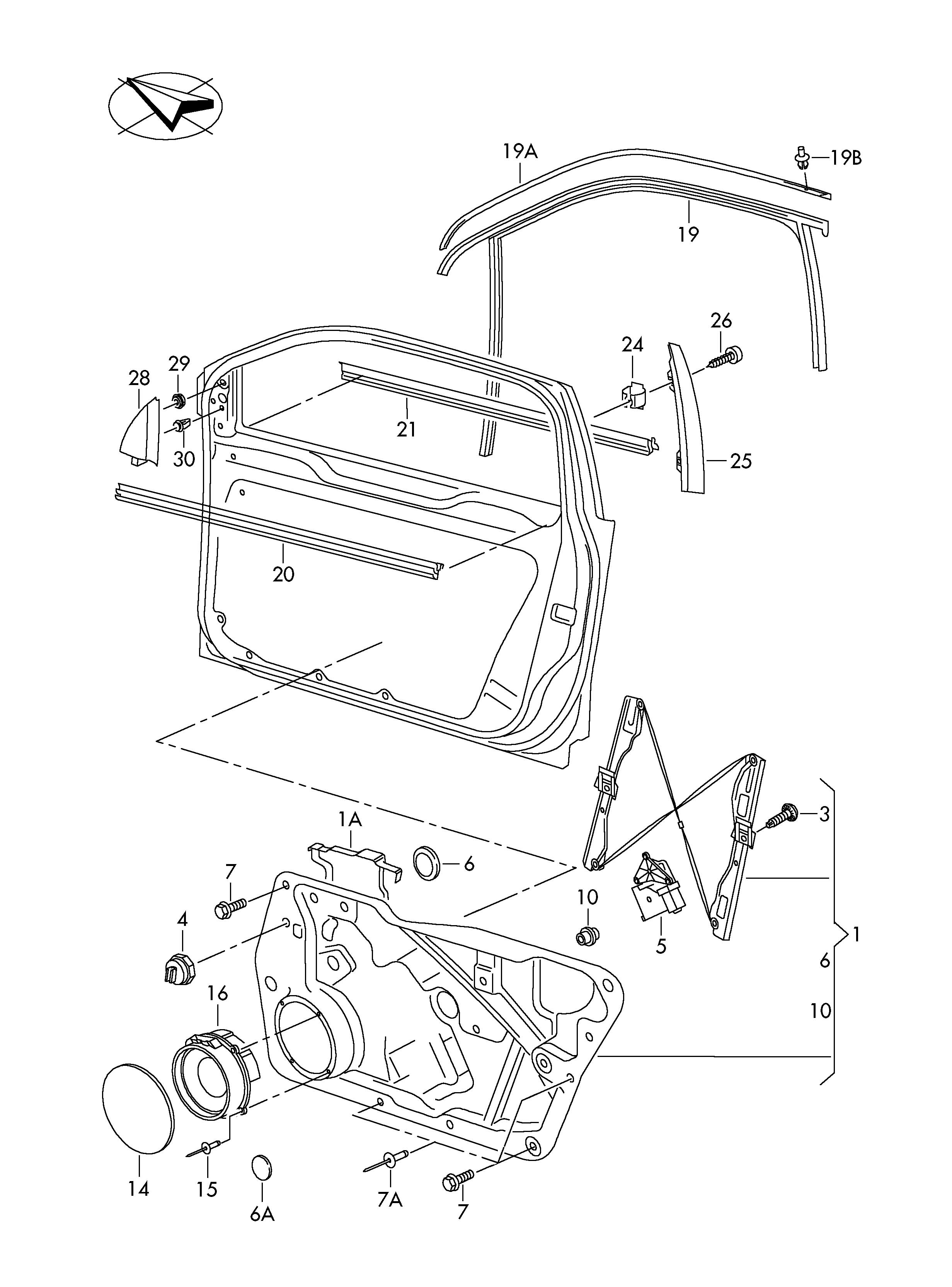 Volkswagen Tiguan Plug F Hole Sheet Metal Thickness