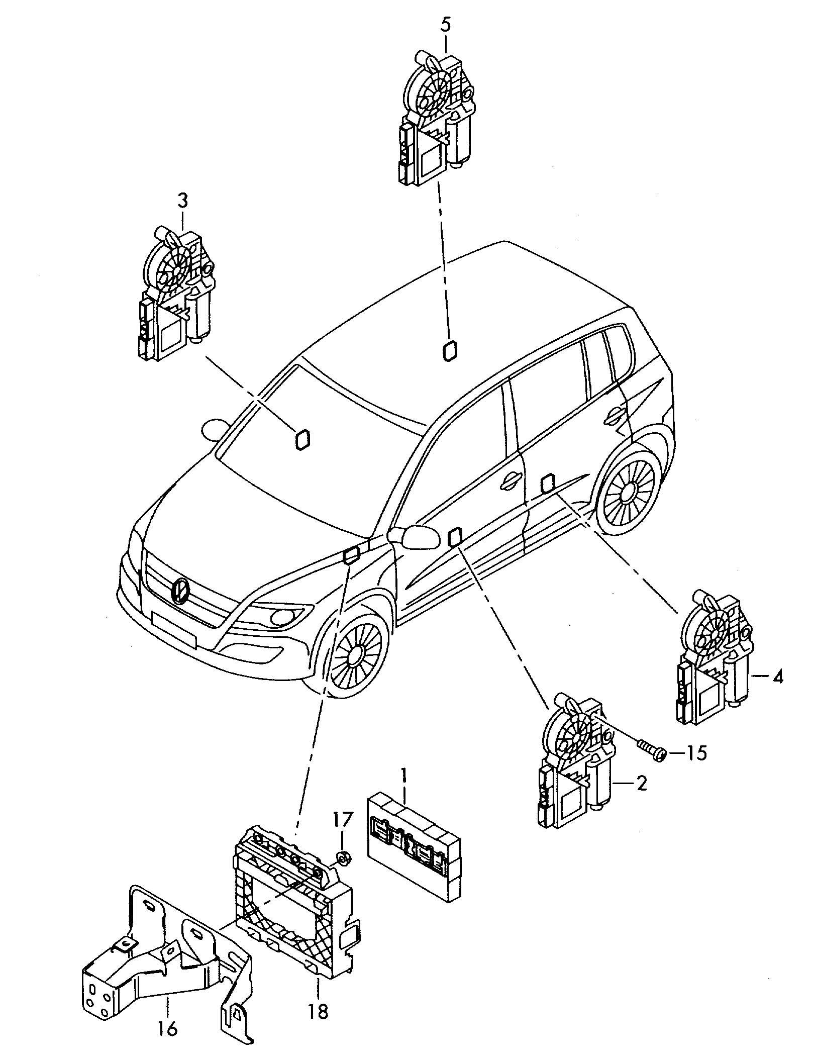 Volkswagen Tiguan Tie Wrap Ratchet Temp Resistant Cable