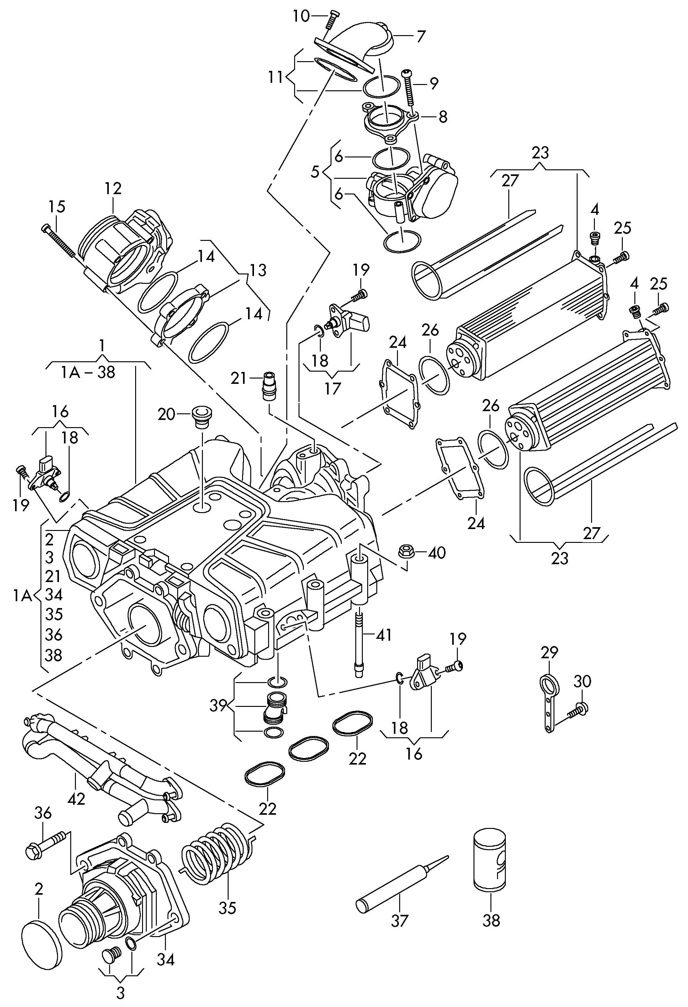 Volkswagen Compressor Charge Air Compresso