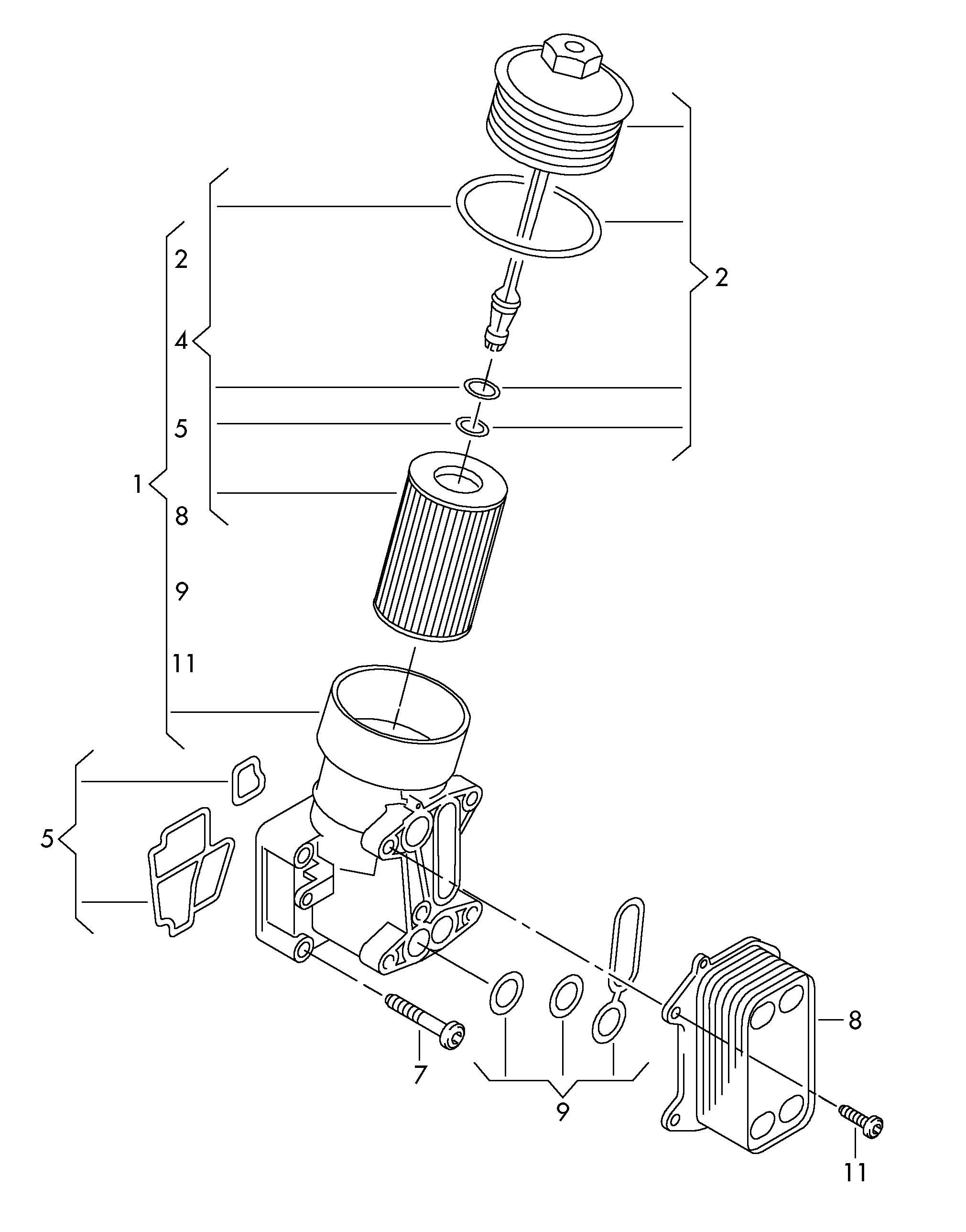 Oil Filter Oil Filter Adapter 1 6ltr 2 0ltr