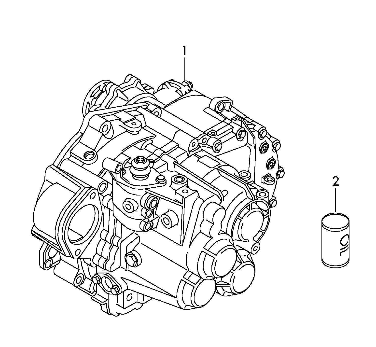 Volkswagen Eos With Hydraulic Operation Release Bearing