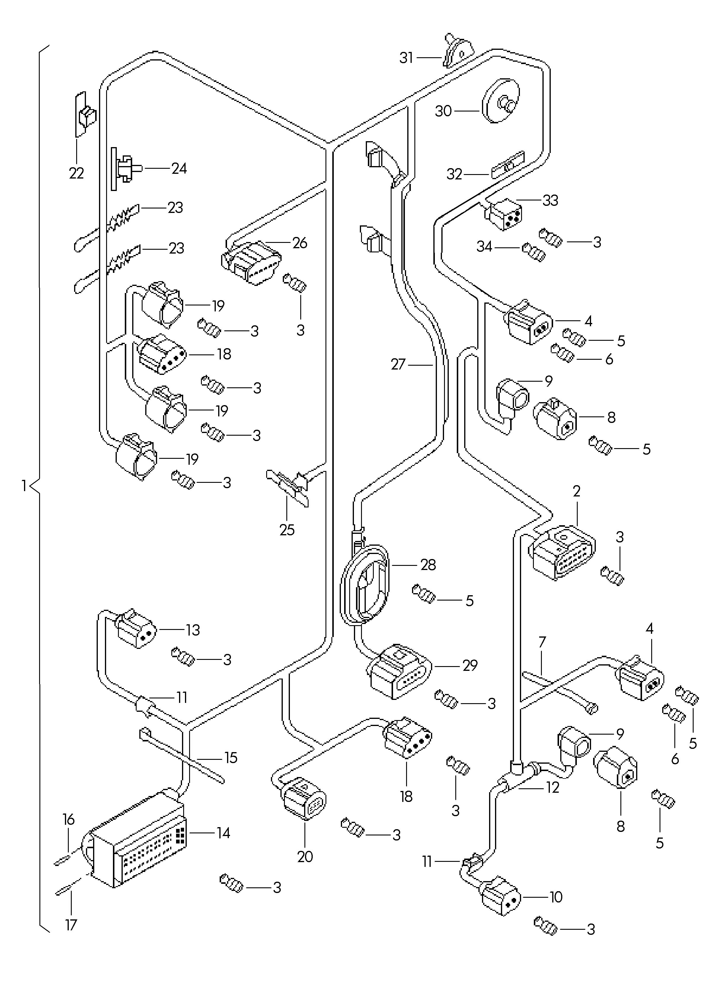 Volkswagen Jetta Pump Intake Pipe Intake Manifold Heater