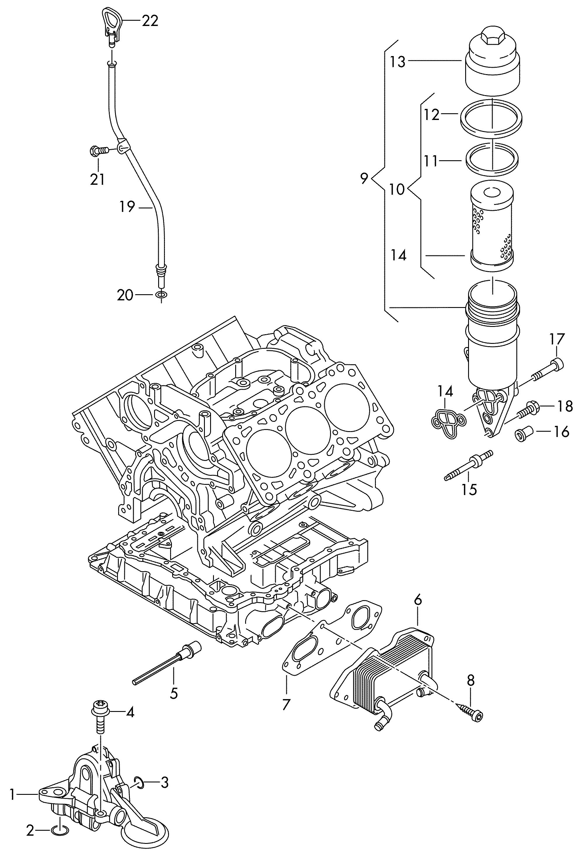 Volkswagen Touareg Oil Pump