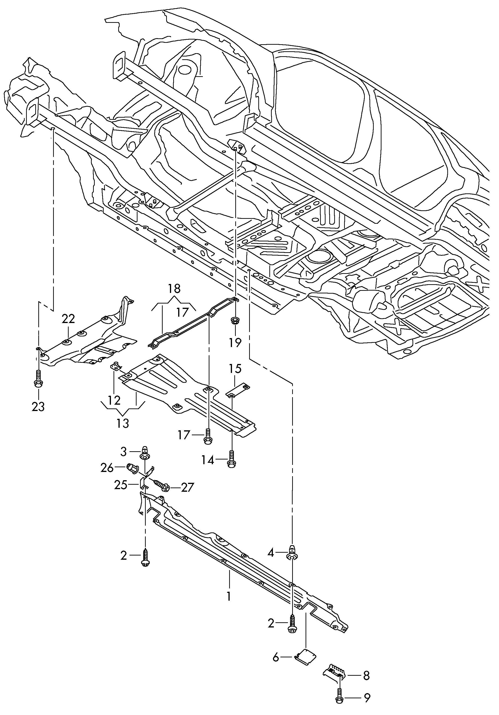 Volkswagen Touareg Sound Baffle Sound Dampening