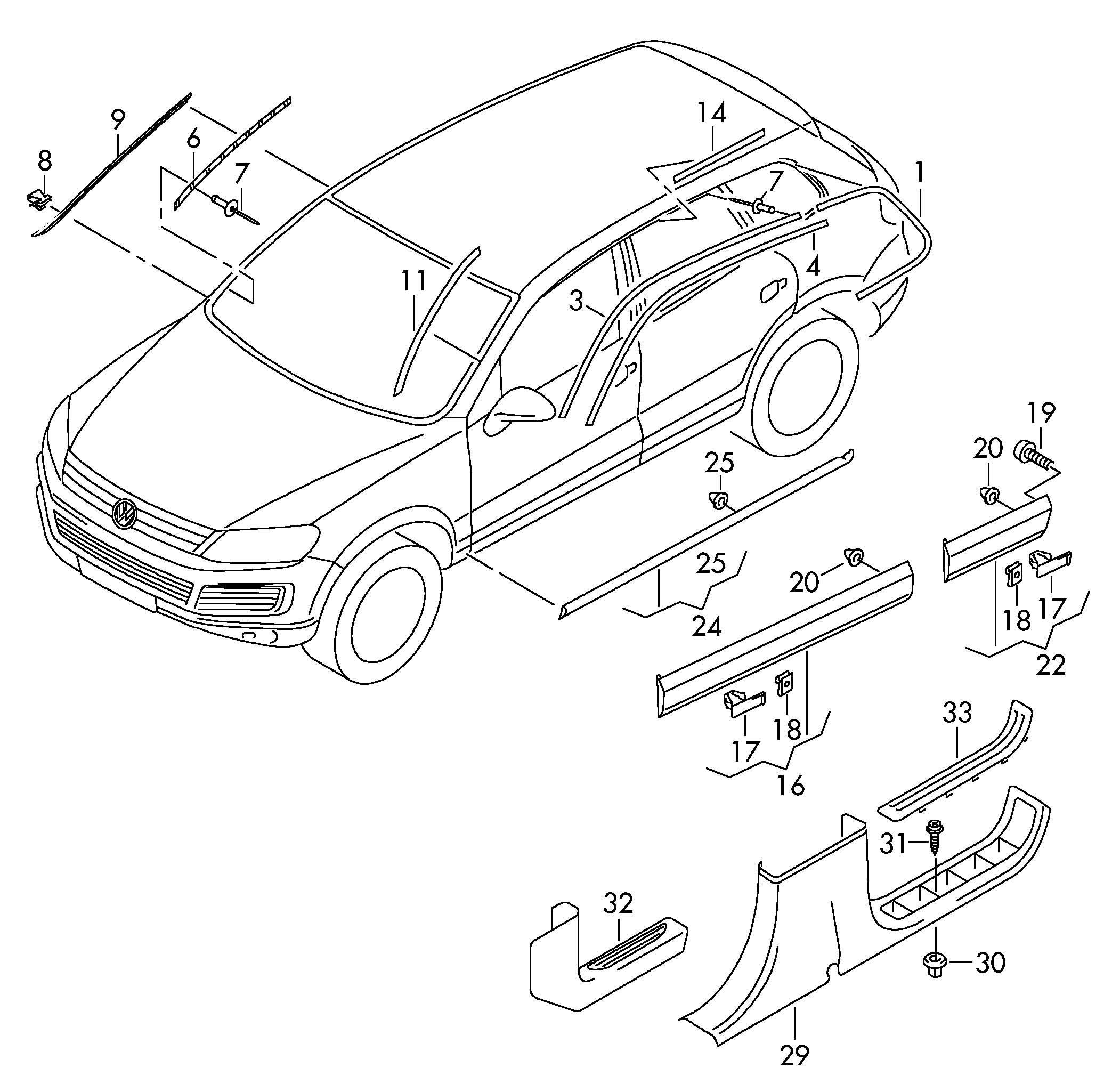 Volkswagen Touareg Clip