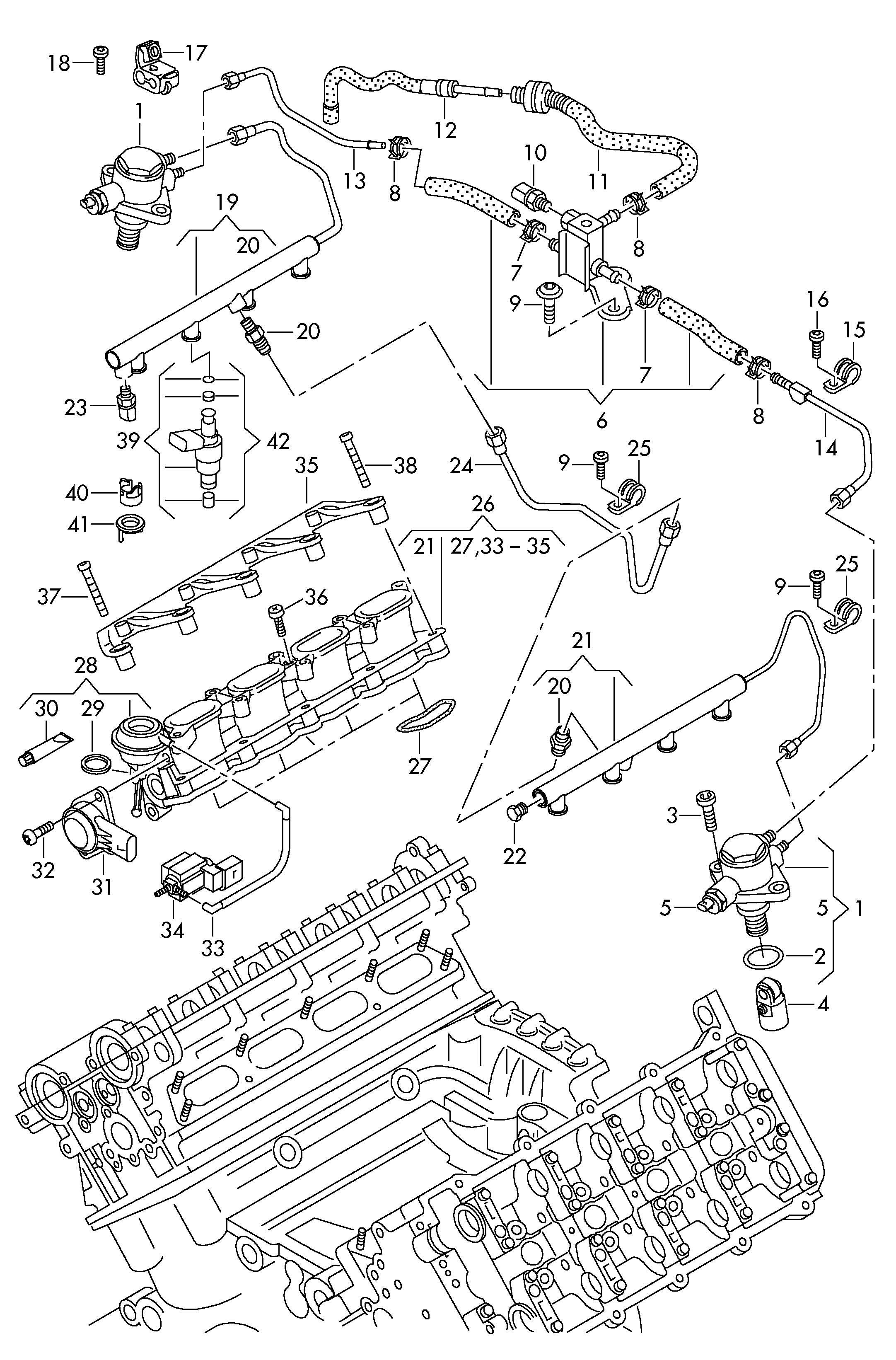 Volkswagen Touareg 8 At Injector