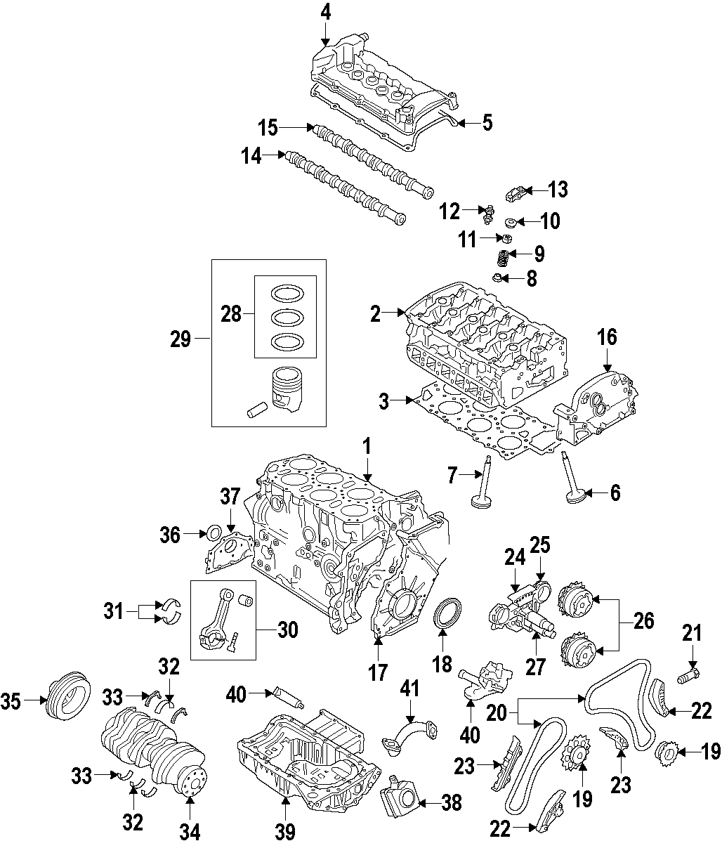 Volkswagen Touareg Timing Chain Primary