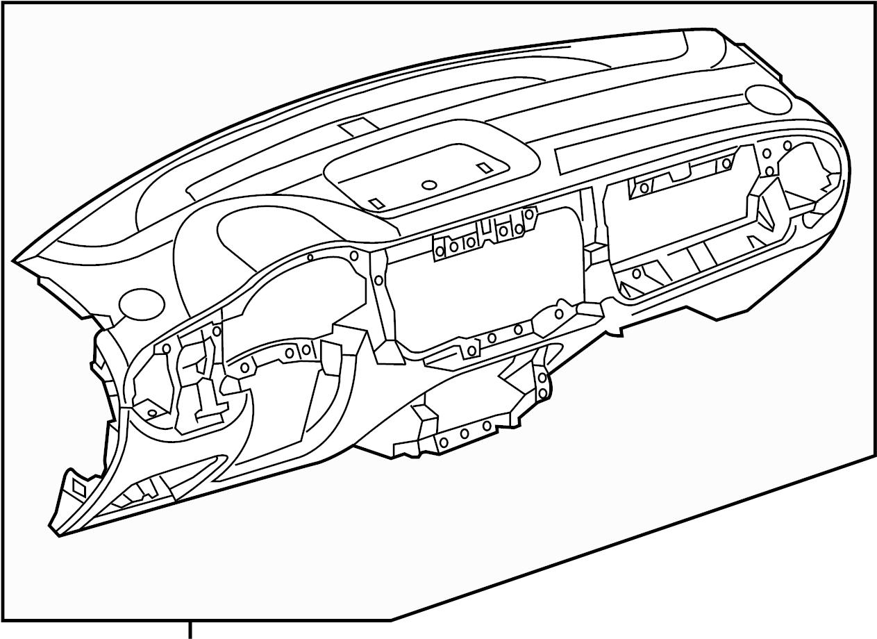 Volkswagen Beetle Dash Panel Instrument Panel Wcomfort