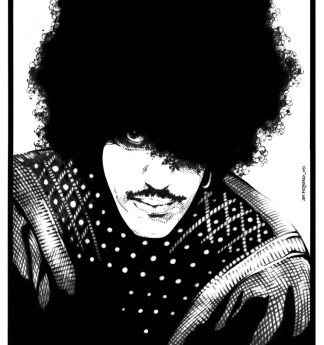 philip lynott.1981.portrait