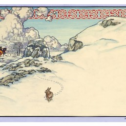 winter(rabbit in snow).1982.FINAL