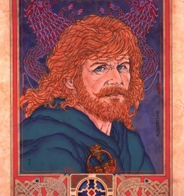 BRIAN BORU.LION OF IRELAND Detail 1