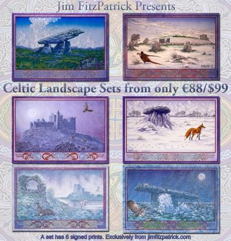 Irish myth, irish legend, irish mythology, irish, ireland, jim fitzpatrick, Irish landscapes, celtic irish landscapes, landscape art