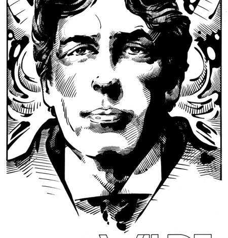 Irish writers, Irish, writers, Joyce, Wilde, Behan, Beckett, Yeats, Ireland, Irish Literature, James Joyce W.B. Yeats, William Butler Yeats, Brendan Behan, Samuel Beckett, Oscar Wilde, Jim Fitzpatrick, Portraits, Portrait, Irish writer portrait, Irish writers Portraits, graphic art,