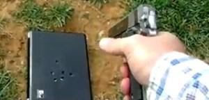 Dad Shooting Laptop