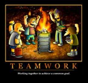 Funny Teamwork Quotes For Thank You. QuotesGram