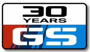 BMW GS 30 Years Logo