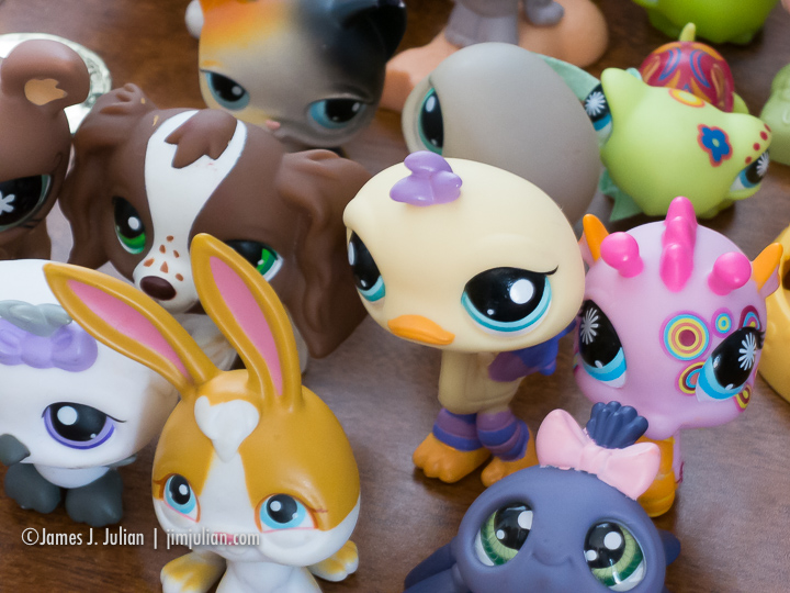 Little Toy Characters
