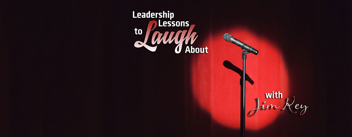 """Leadership Lessons to Laugh About"" now available on DVD"