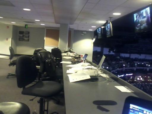 Empty Pressbox
