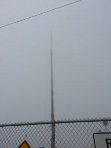 Foggy Crane