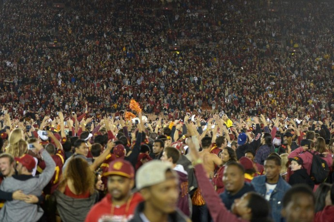 USC Storming Field