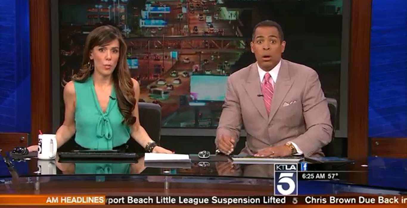 KTLA Quake Reaction