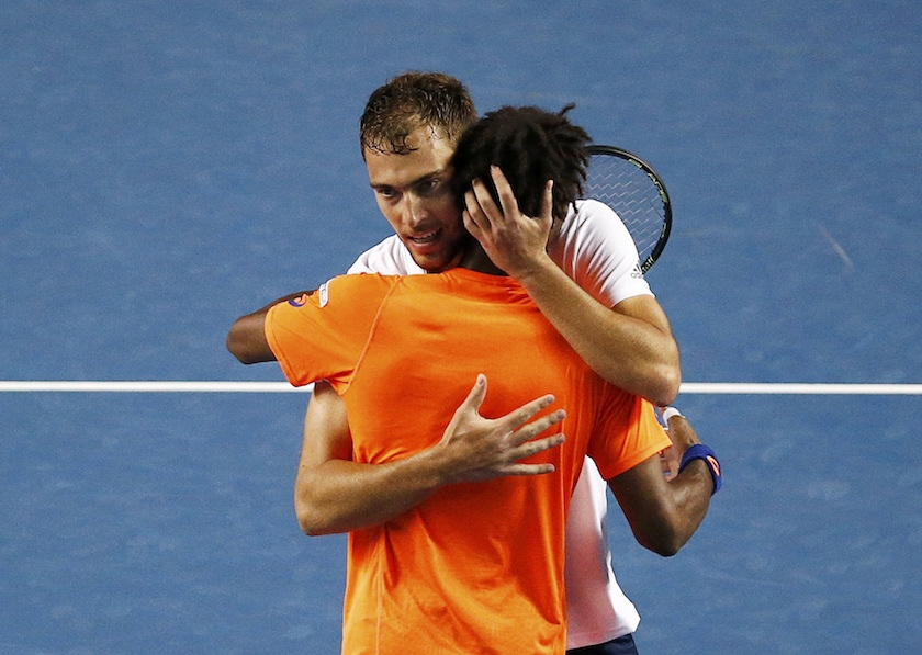 Janowicz and Monfils