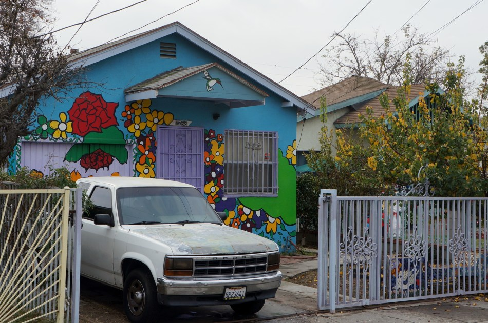 Colorful House in Watts
