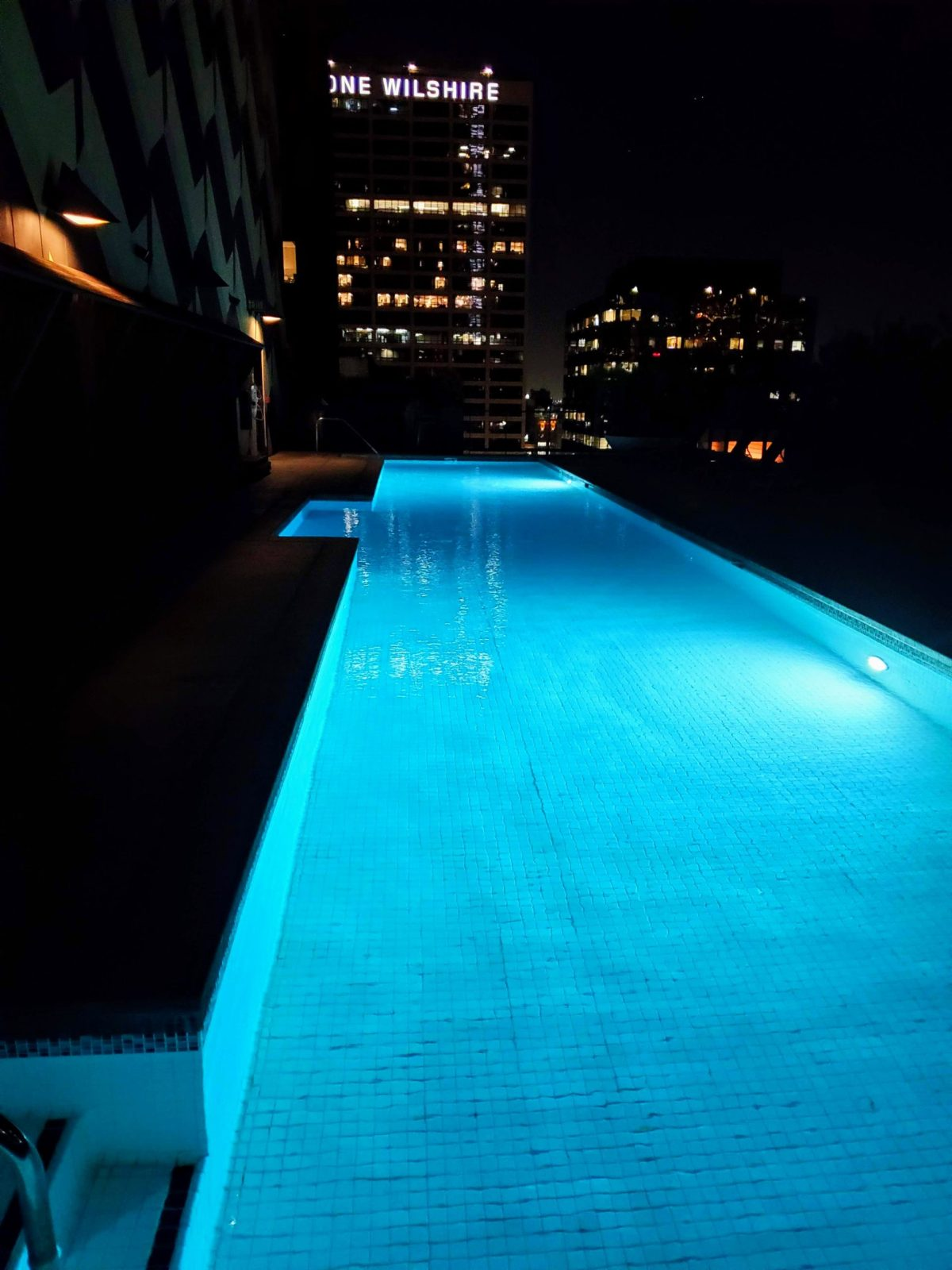 Rooftop Pool in DTLA