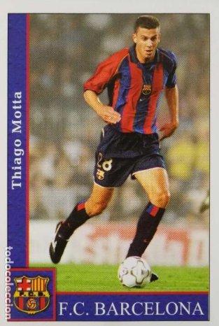 Thiago Motta i aktion for Barça