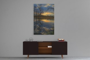 Morning Reflections Canvas Wall Art or Image Download