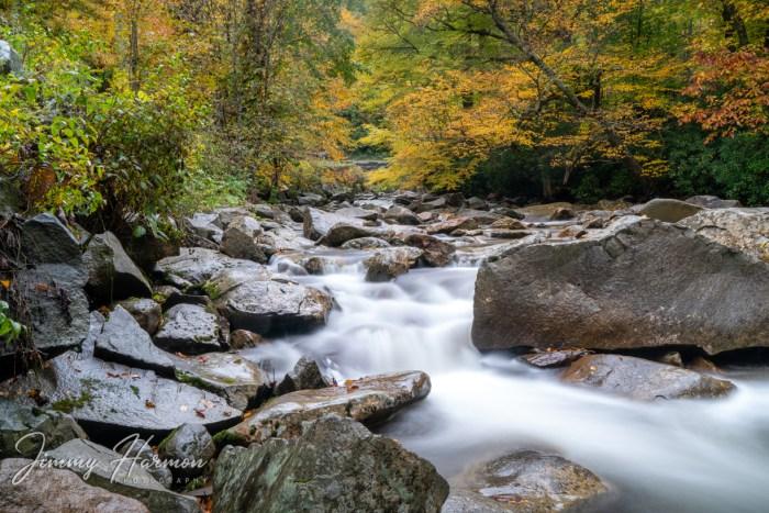 Smoky Mountain Autumn River