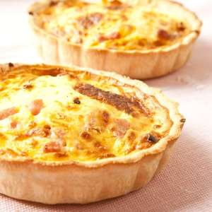 toasty bluecheese quiche