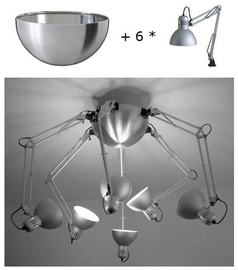 ikea hack lamp