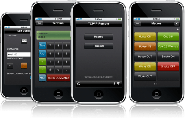 Mike Zinman the guy who writes all of the awesome iPhone lighting software that we all love has released a free update to his TCP/IP Remote app. TCP/IP ... & Mike Zinmanu0027s TCP/IP Remote Update - Free for Software Owners | Jim ...
