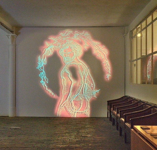 Kunstraum Richard Sorge Lunar New Year - Projections