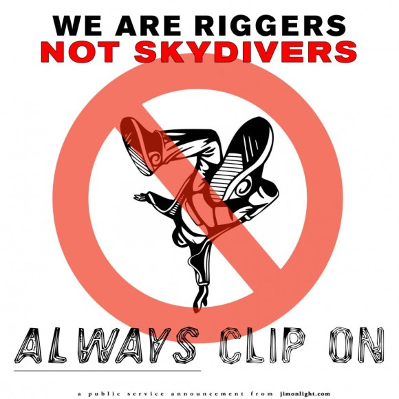RIGGERS-NOT-SKYDIVERS