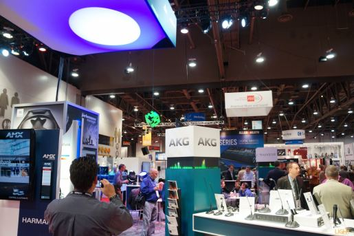 Entering the scary world of the Sound Pavilion, InfoComm 2014
