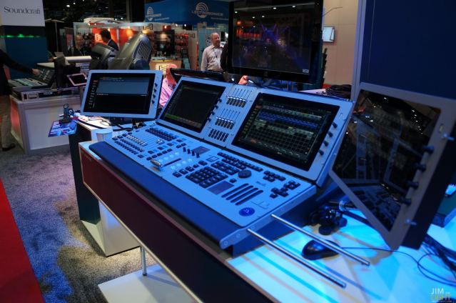 The MARTIN Lighting Booth, InfoComm 2014