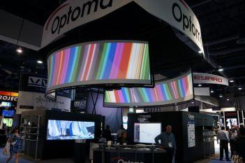 Optoma, InfoComm 2014