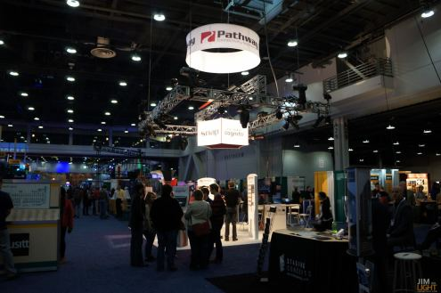 USITT 2015 Show Floor... Pathport